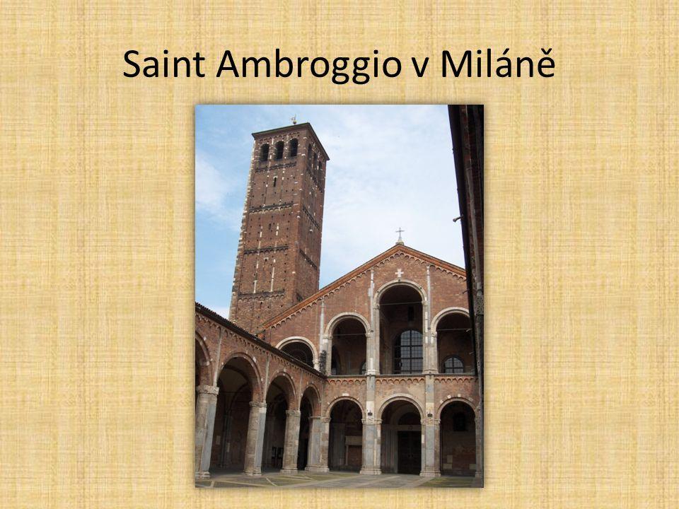 Saint Ambroggio v Miláně