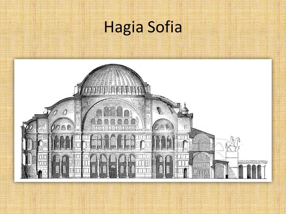 Hagia Sofia, interiér