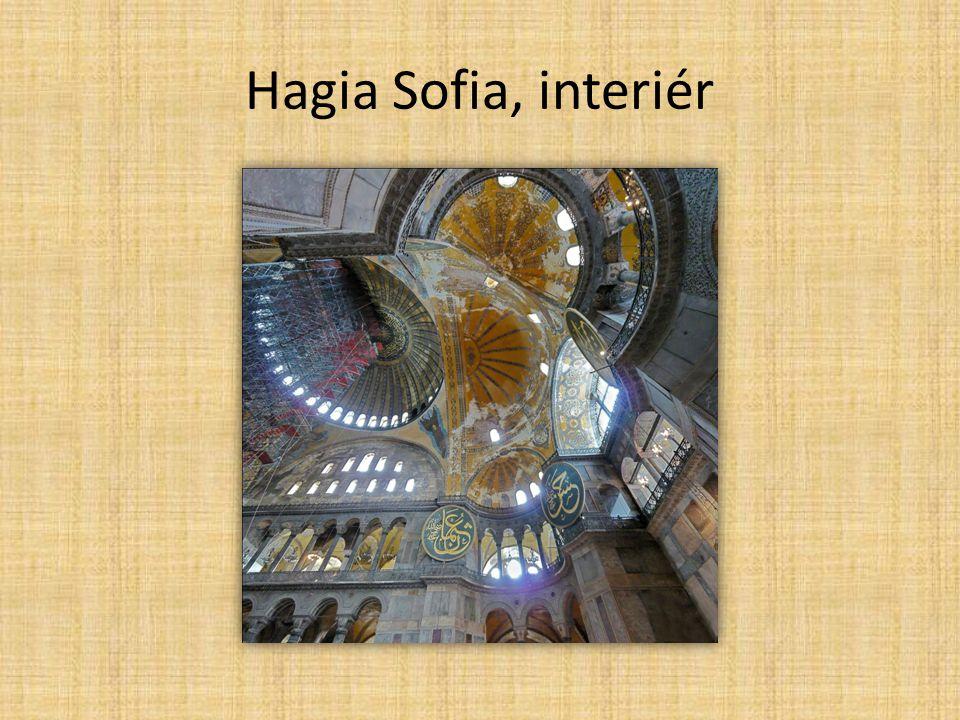 Islámská oblast turecké, arabské, perské prvky ozdobné arabské písmo centra: Bagdád, Córdoba lomený půlkruhový oblouk, zdobnost exteriérů a interiérů mešity v Jeruzalémě, Samaře, Buchaře Taj Mahal v Agře později přestavovány na křesťanské katedrály