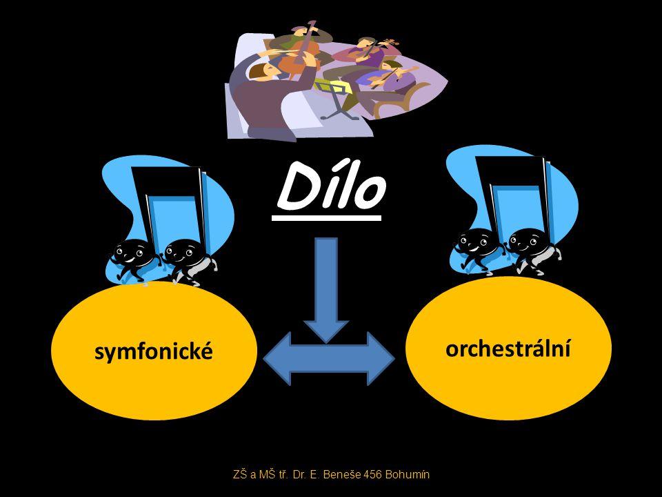 Dílo symfonické orchestrální ZŠ a MŠ tř. Dr. E. Beneše 456 Bohumín