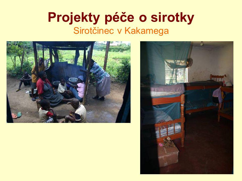 Projekty péče o sirotky Sirotčinec v Kakamega