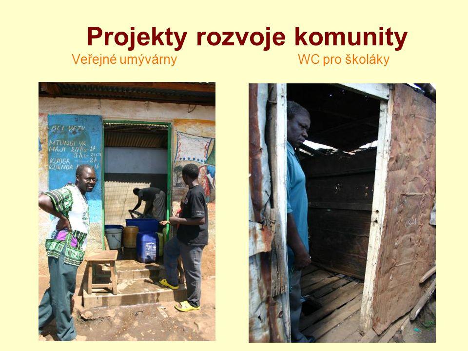 Projekty rozvoje komunity Veřejné umývárny WC pro školáky