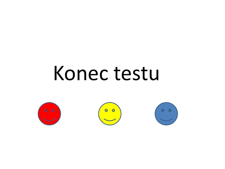 Konec testu
