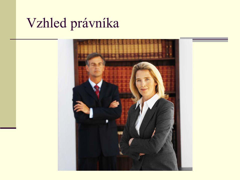 Vzhled právníka