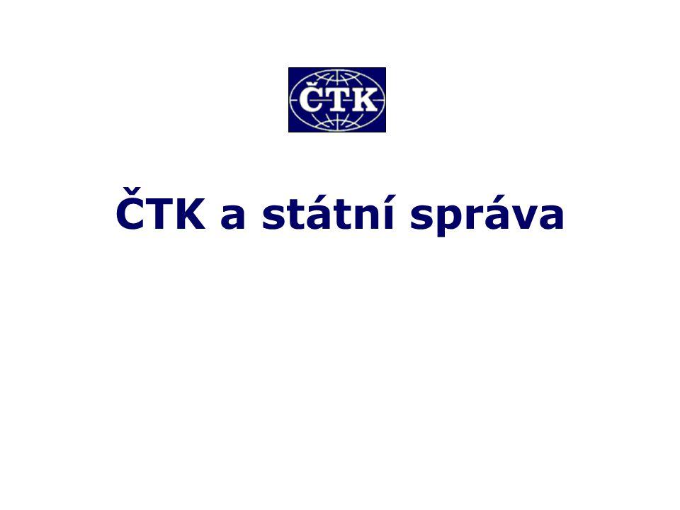 Veškeré kontakty na pracoviště ČTK v pražském centru i v regionech, na které se mohou se svými informacemi či dotazy pracovníci správních orgánů obrátit, jsou uvedeny na firemních webových stránkách Četky www.ctk-online.cz/kontakty.html