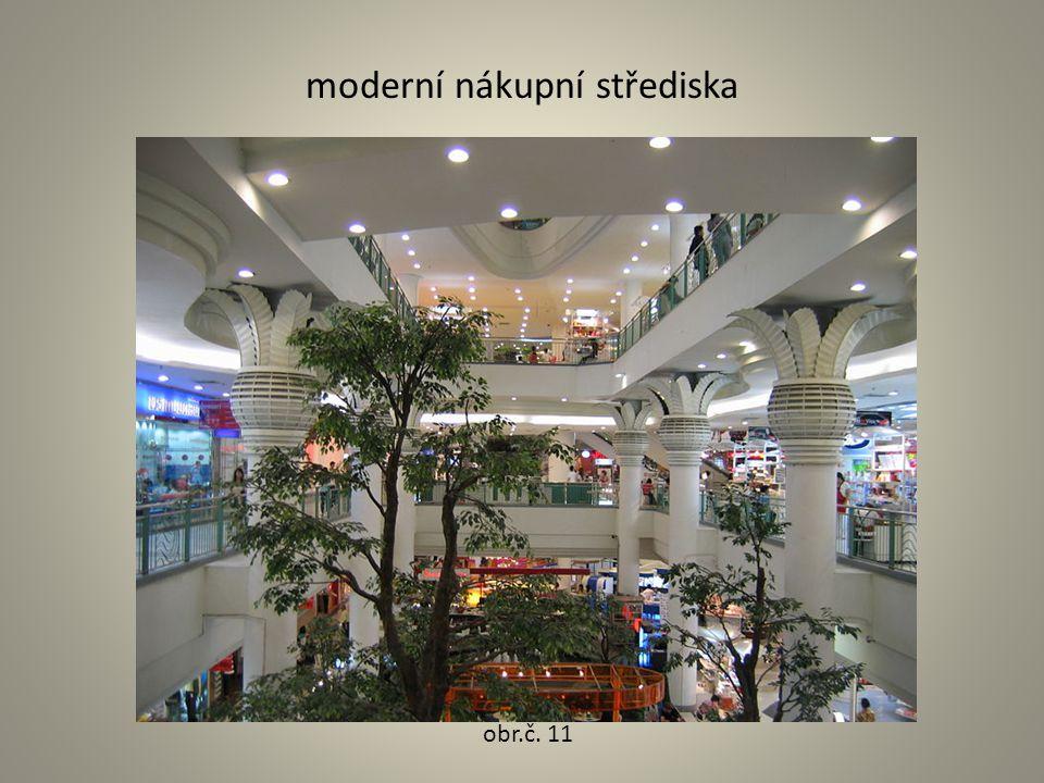 moderní nákupní střediska obr.č. 11