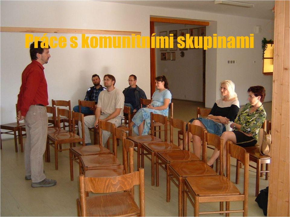 Práce s komunitními skupinami