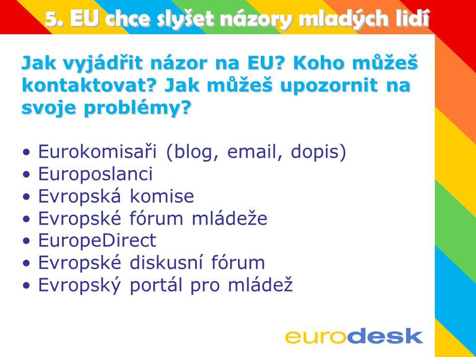 4. Jak EU prezentuje sebe sama.