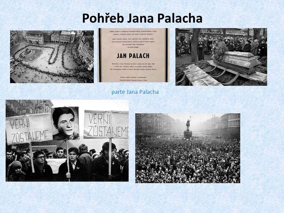 Pohřeb Jana Palacha parte Jana Palacha