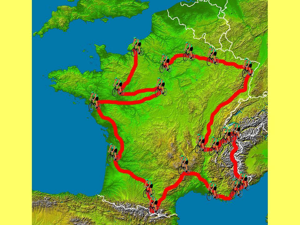 Tour de France Stejně jako závodníci na slavném cyklistickém závodě během tří týdnů projedou celou Francii a poznají tak její tvář, tak i Vás čeká hra o 19 kolech, během níž společně procestujeme téměř celou Francii.