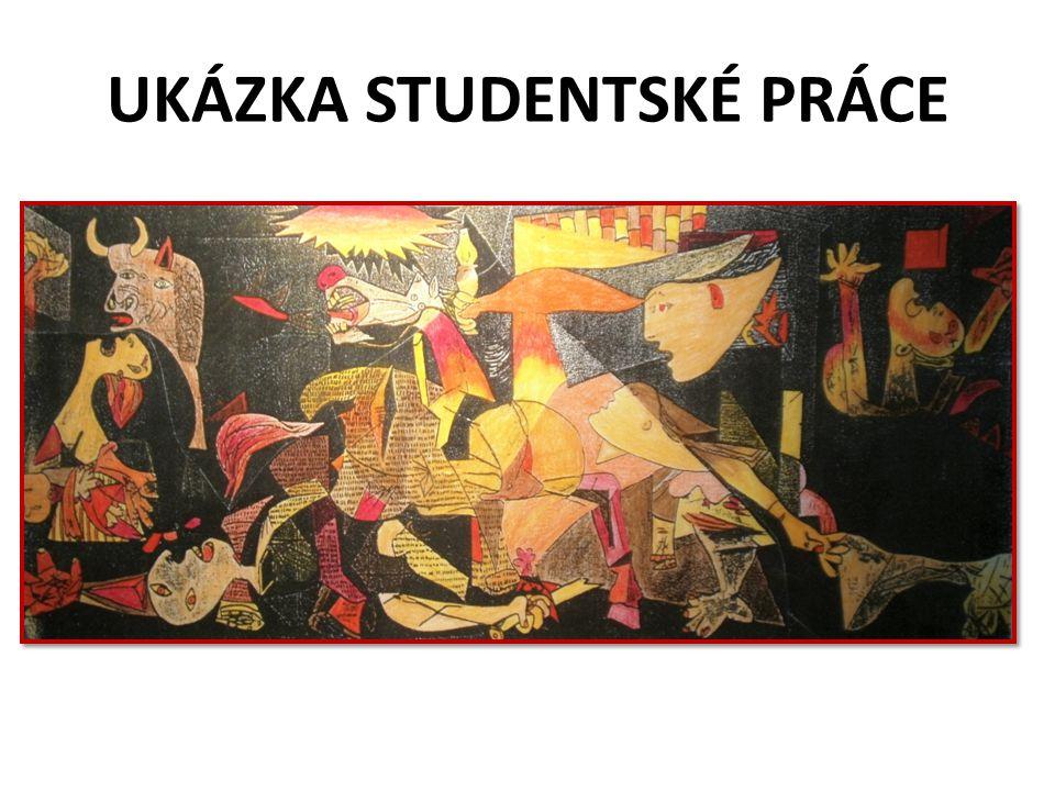 UKÁZKA STUDENTSKÉ PRÁCE