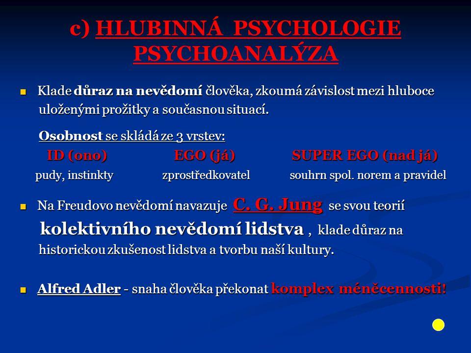 Přirovnání psychiky k vědomí s vědomou částí nad hladinou a podvědomím v hloubce.