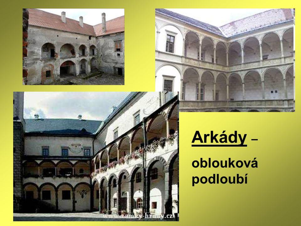 Měšťanské domy Slavonice Telč