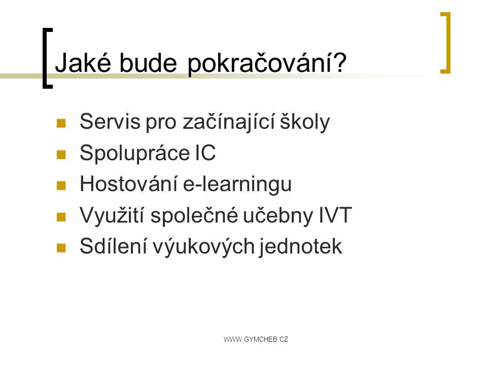 Příjemnou výuku se sítí www.gymcheb.cz ulovec@gymcheb.cz
