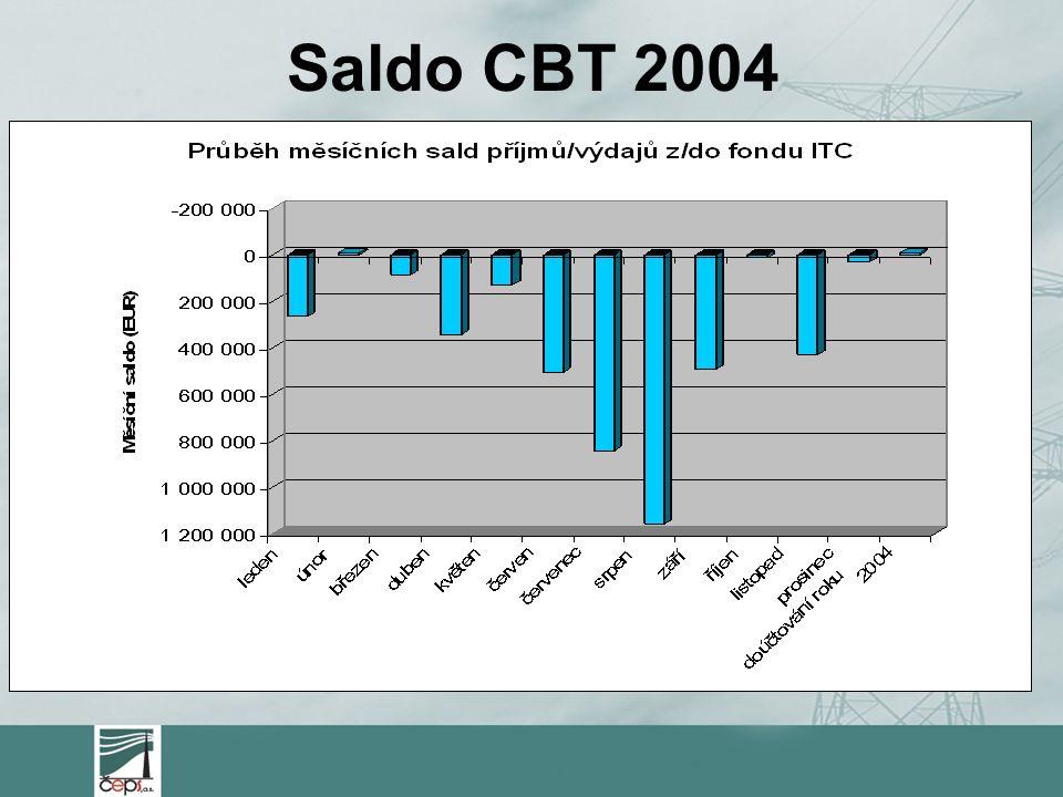 Saldo CBT 2004
