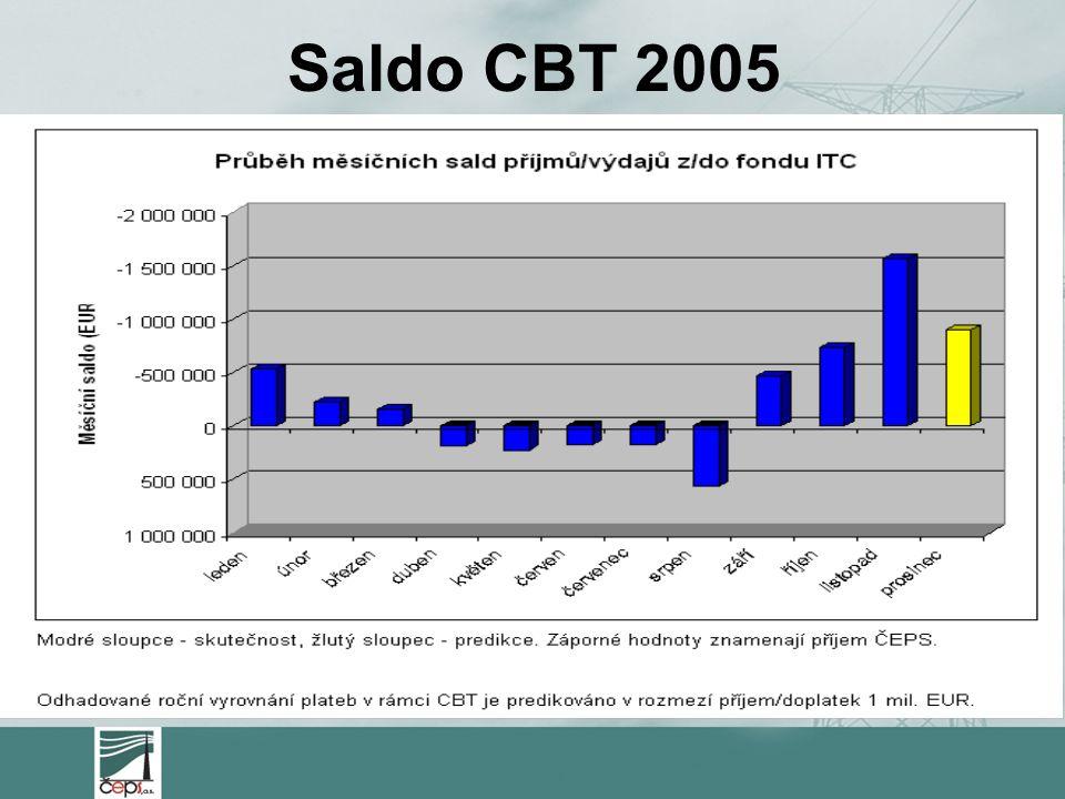 Saldo CBT 2005