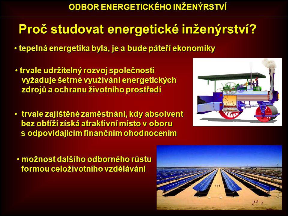 Proč studovat energetické inženýrství.