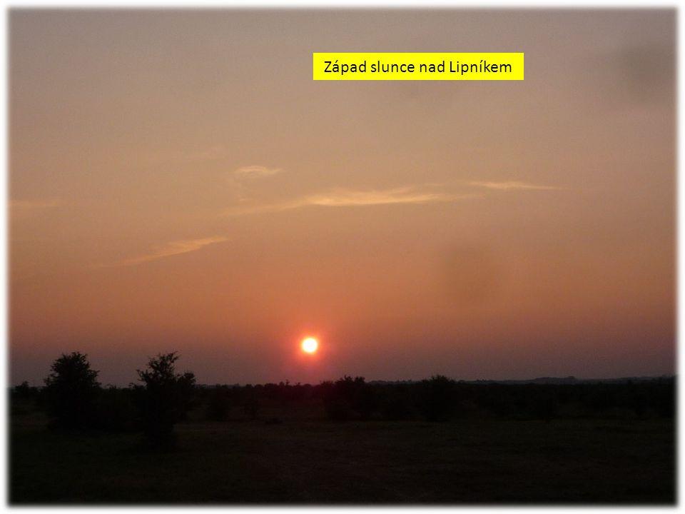 Západ slunce nad Lipníkem