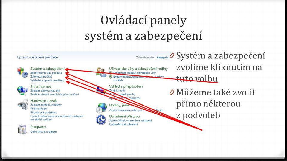 Systém 0 Záložka obsahuje základní informace o počítači 0 Index uživatelských zkušeností se systémem Windows 0 Změnit kód Product Key