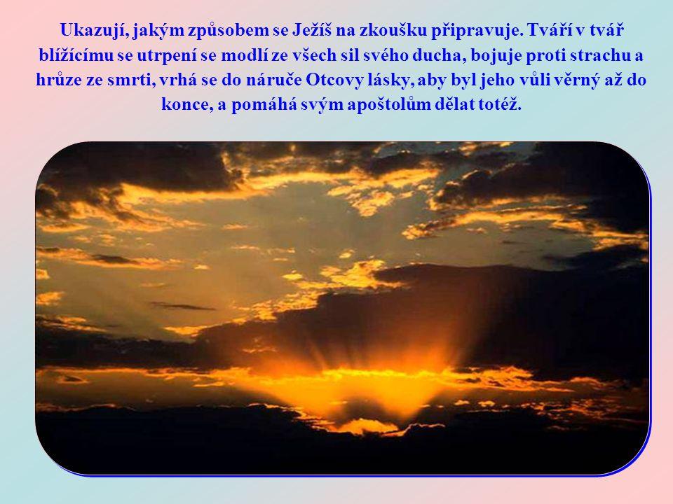 Čteme-li tato slova ve světle okolností, za kterých byla pronesena, vidíme, že nejsou pouhým doporučením, které Ježíš dává svým učedníkům. Je třeba je