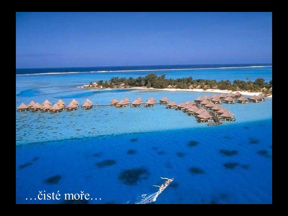 …čisté moře…