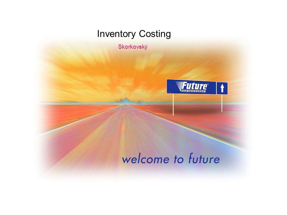 12 Účtování nákladů na zboží (účtování hodnoty do hlavní knihy)-FIFO