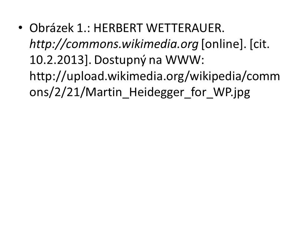 Obrázek 1.: HERBERT WETTERAUER. http://commons.wikimedia.org [online].