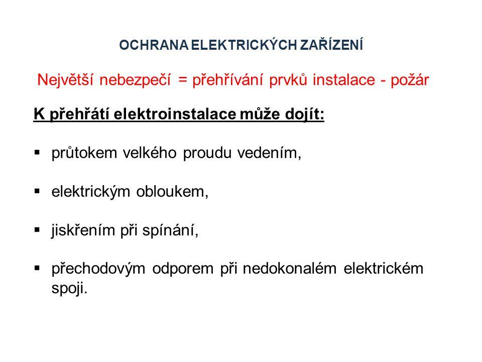 ELEKTRONICKÉ JIŠTĚNÍ U výkonových jisticích prvků se v současné době prosazují elektronické jističe.