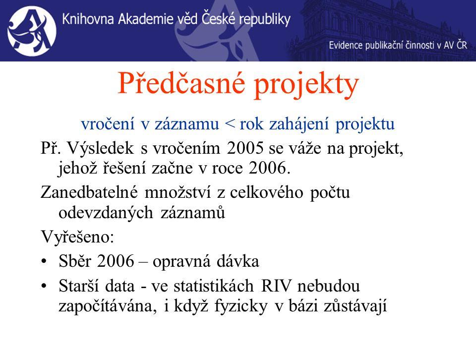 Opravy 2007 - JI Záznamy JI neodevzdané do RIV KNAV – označí záznam 2007 a označí záznam do RIV.