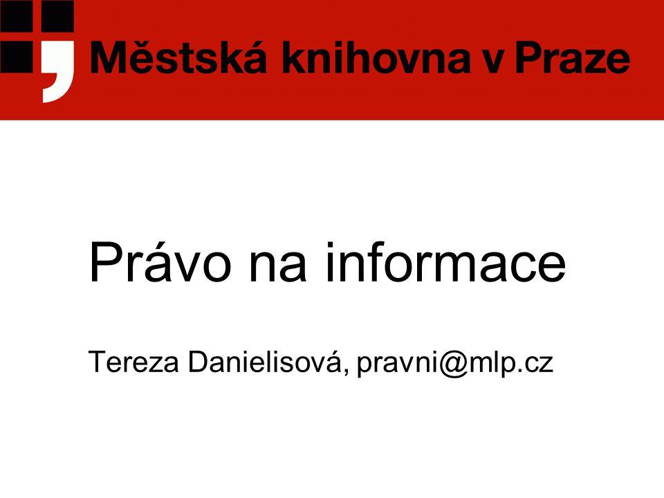 Právní rámec 1  Listina základních práv a svobod, čl.