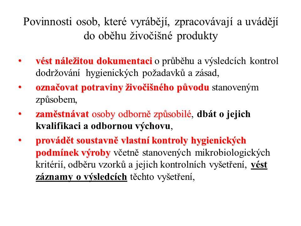 VYSTAVENÍ OBCHODNÍHO DOKLADU Při předání VŽP oprávněné osobě musí být vystaven obchodní doklad Je možné vystavení obchodního dokladu dle vzoru vydaného SVS ČR nebo tzv.