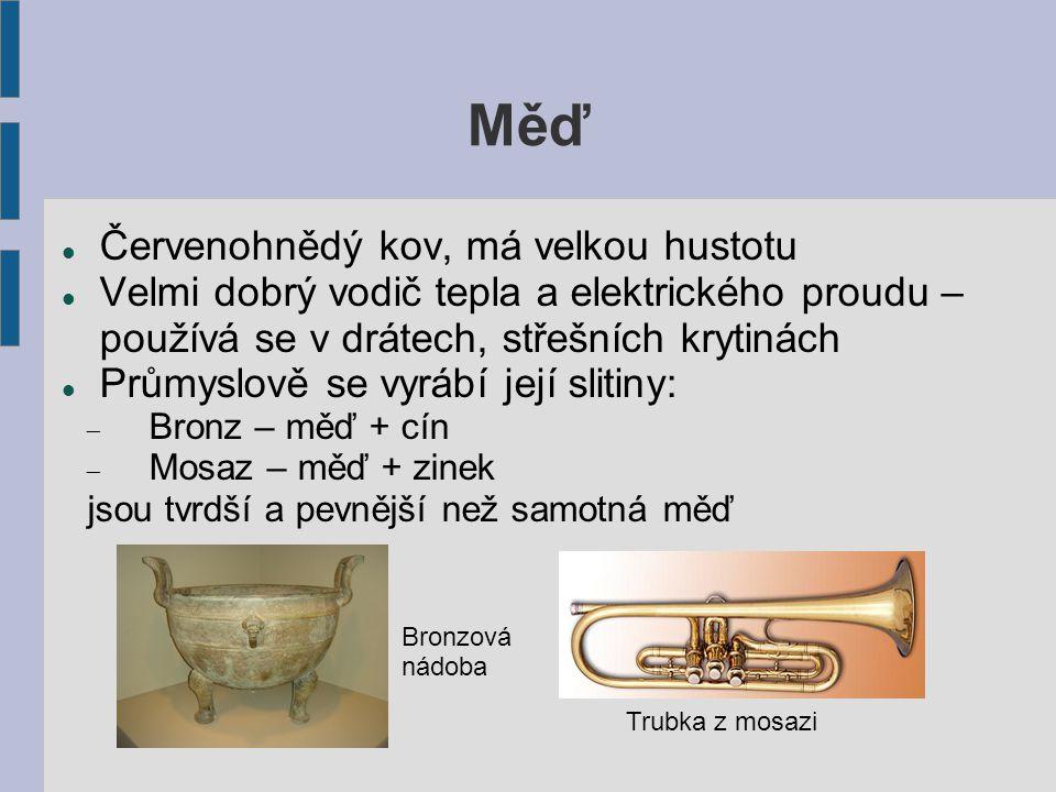 Shrnutí Jaké předměty se vyrábí z oceli (železa) .
