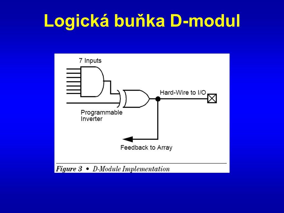 Logická buňka D-modul