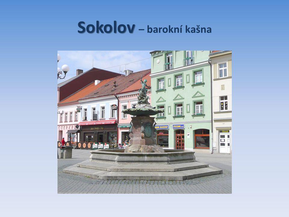 Sokolov Sokolov – barokní kašna