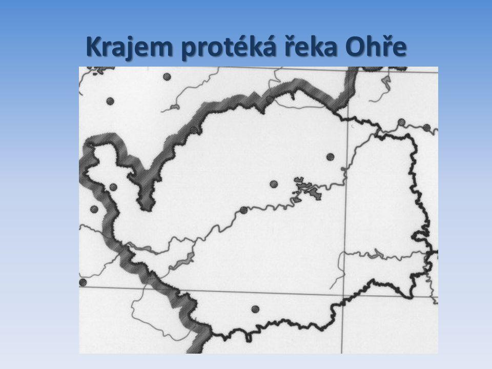 Krajem protéká řeka Ohře