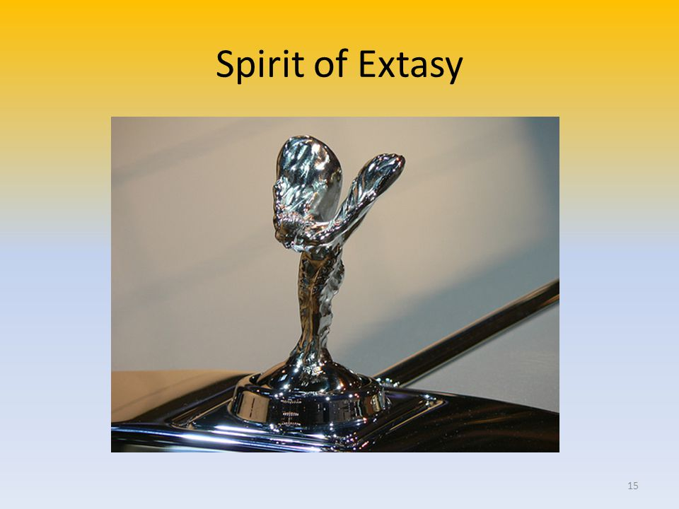 Spirit of Extasy 15