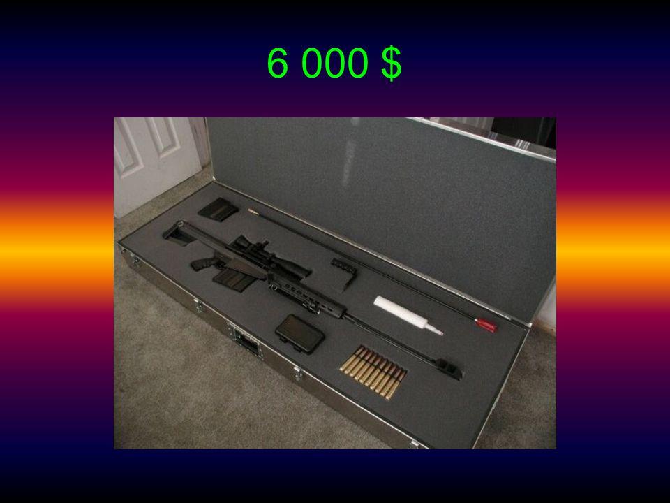 Primární určení: zbraň speciálního použití s dalekohledem Výrobce: Barrett Firearms Manufacturing, Inc. and Unertl Délka: 144,78 cm Délka hlavně: 73,6