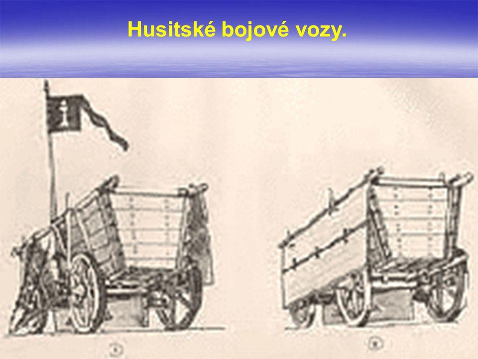 Vozová hradba – soudobé vyobrazení.