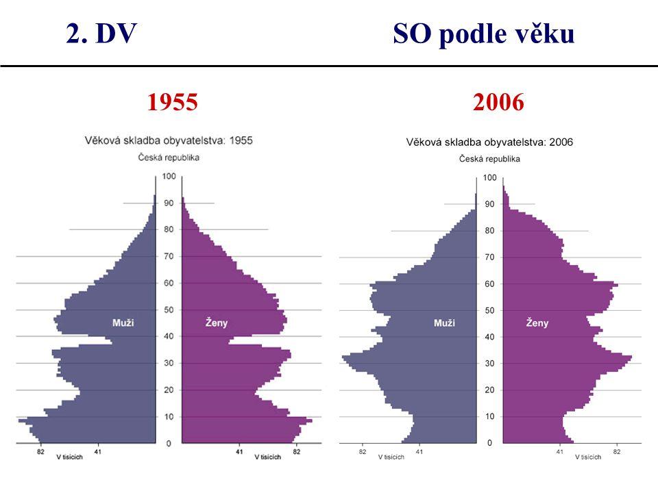 2. DV SO podle věku 1955 2006