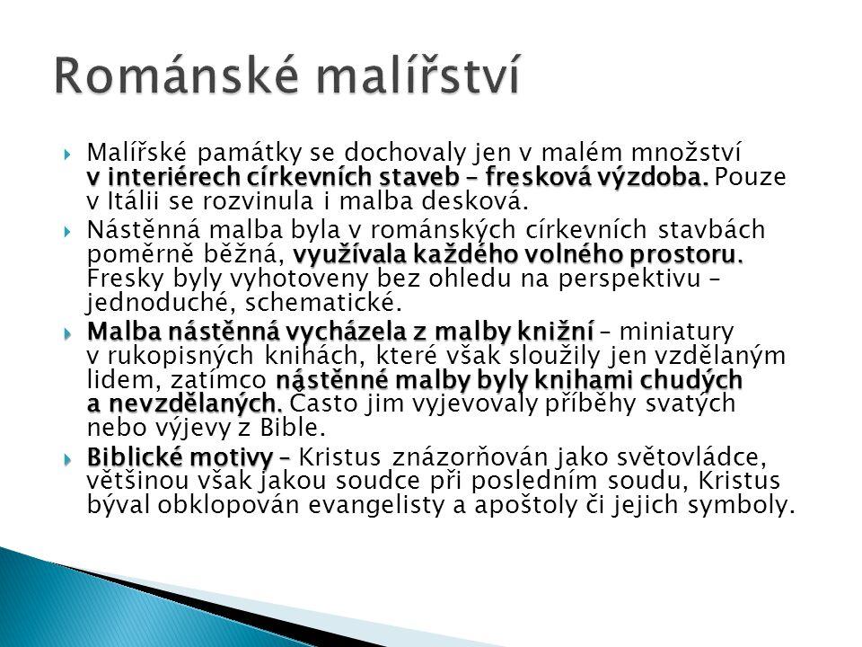 15, 16) Bohatě iluminovaný Vyšehradský kodex byl vytvořen za vlády prvního českého krále Vratislava I.