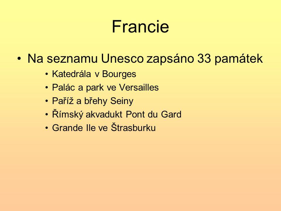 Zdroje informací o památkách UNESCO Uveď české památky UNESCO