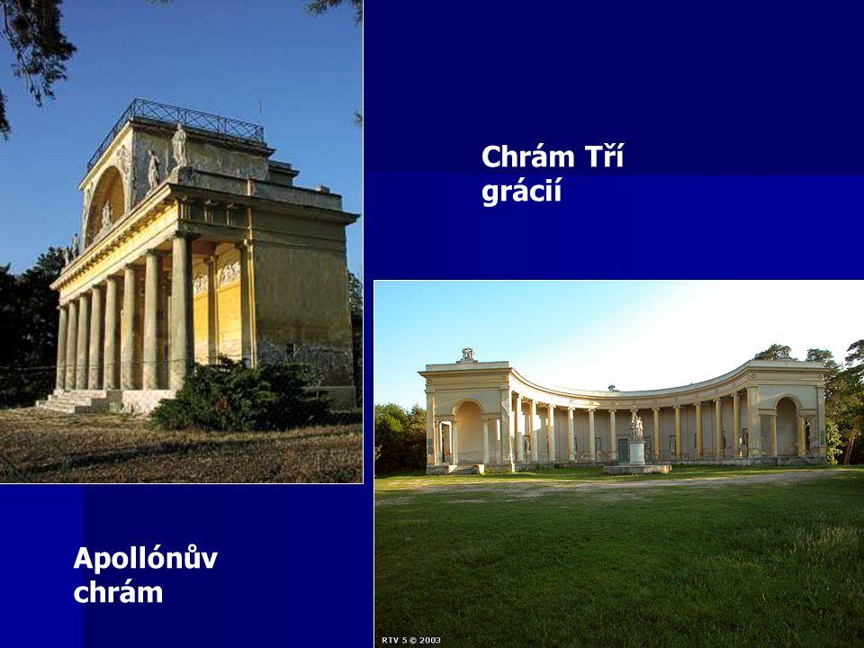 Apollónův chrám Chrám Tří grácií