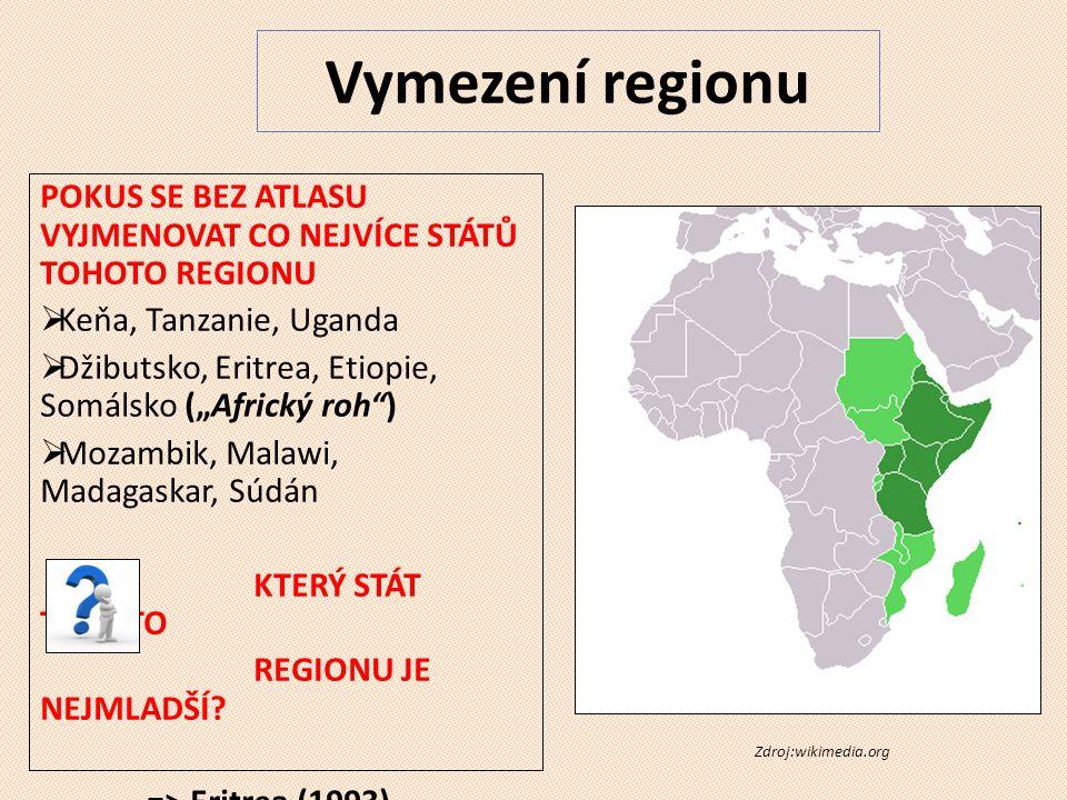 EAC - The East African Community = Východoafrické společenství => Keňa, Tanzanie, Uganda, Burundi a Rwanda => Společná historie spolupráce, společné plány do budoucna (jednotná měna, prezident, parlament, trh..)
