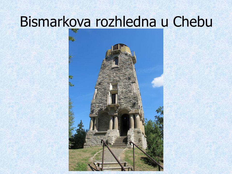 Bismarkova rozhledna u Chebu