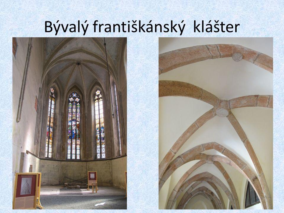 Bývalý františkánský klášter