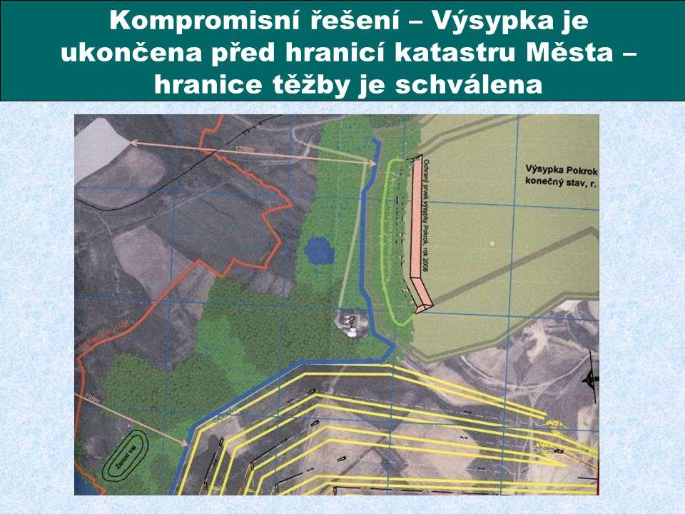 Město Lom a Severočeské doly a.s. Chomutov se dokázali dohodnout