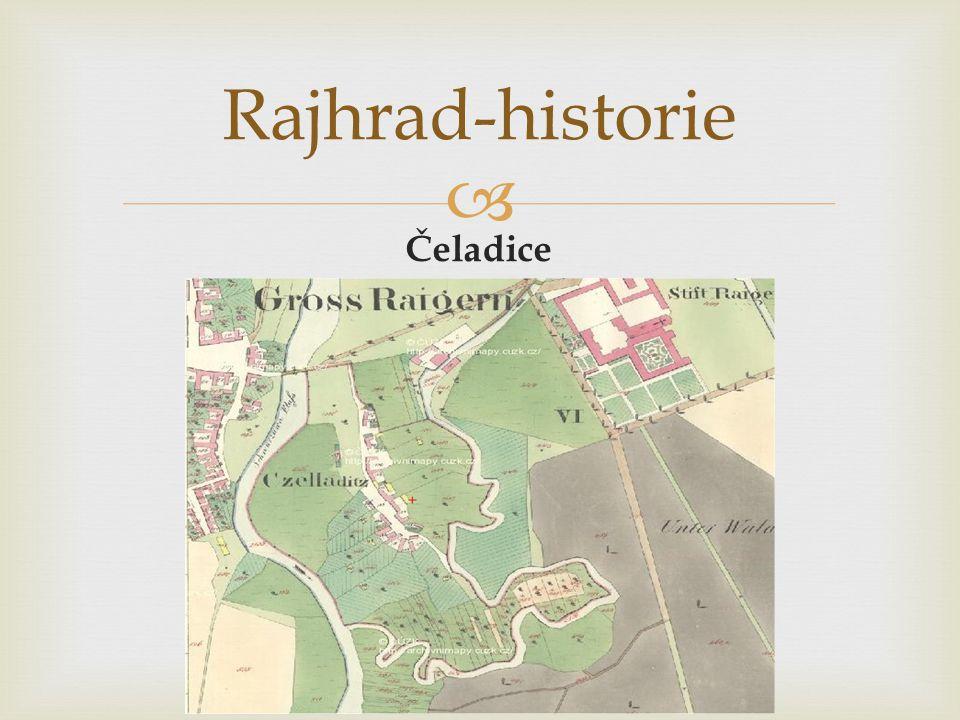  Čeladice Rajhrad-historie