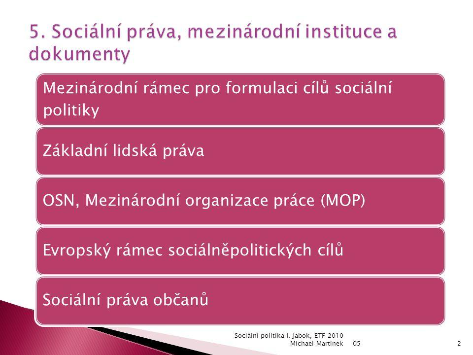 05 Sociální politika I.