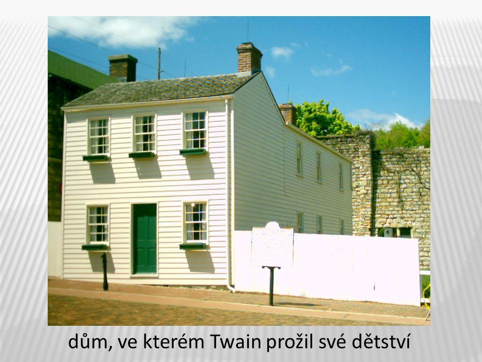 6 dům, ve kterém Twain prožil své dětství