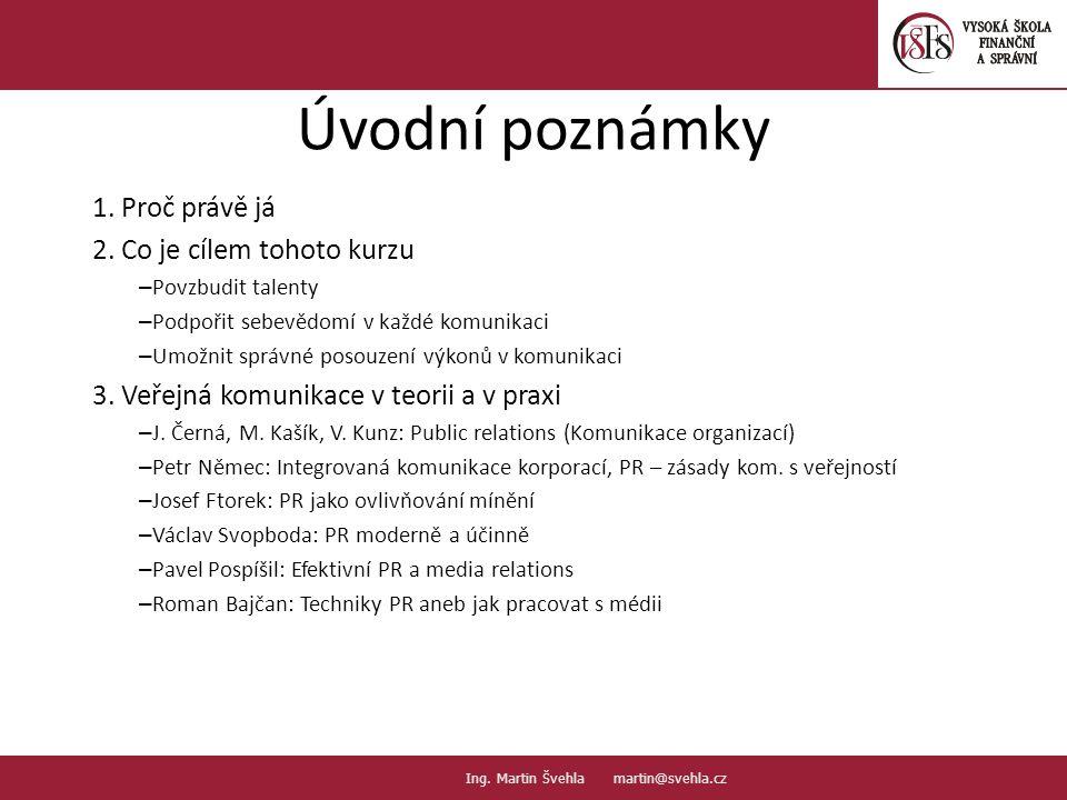 Úvodní poznámky 1.
